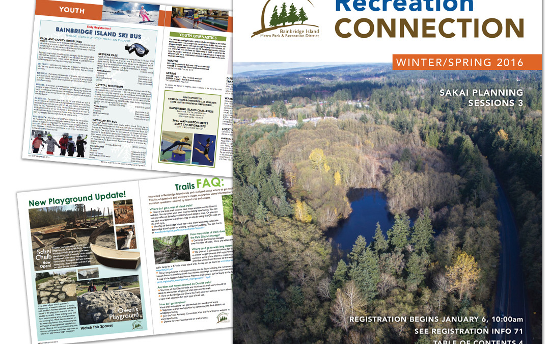 Bainbridge Island Parks & Rec Program Catalog