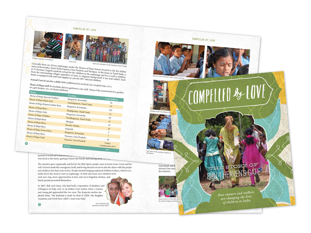 Compelled by Love – Book Design