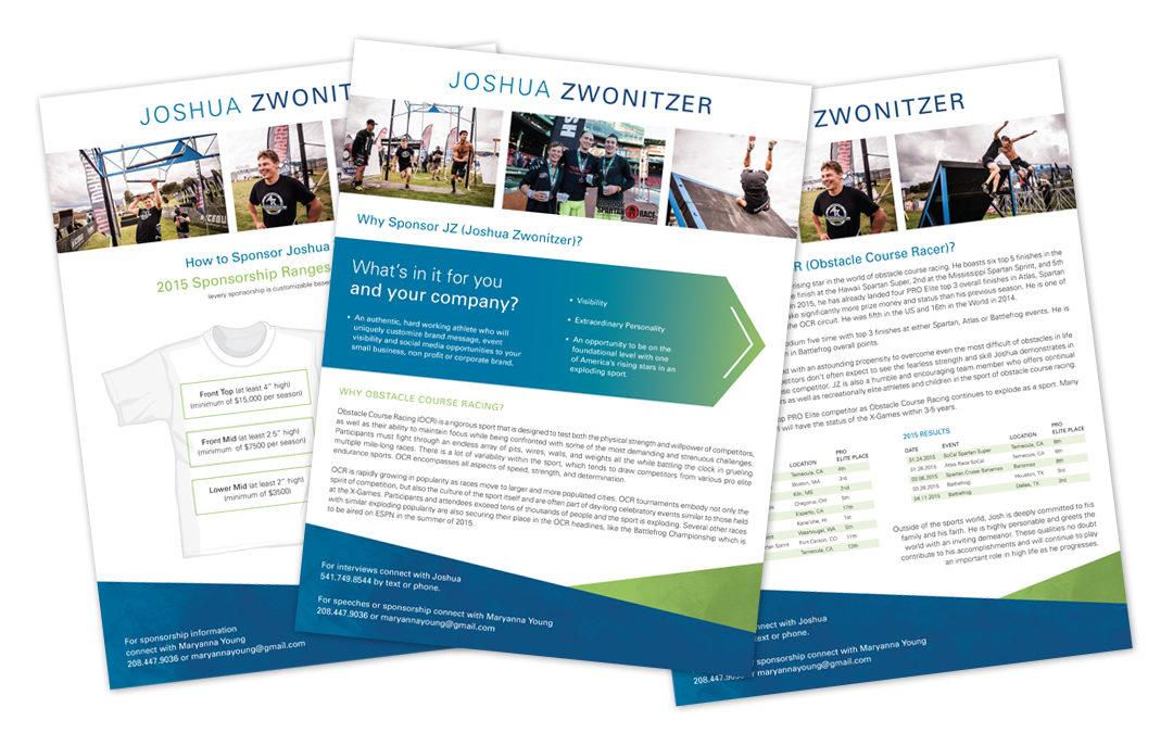 Joshua Zwonitzer – One Sheets