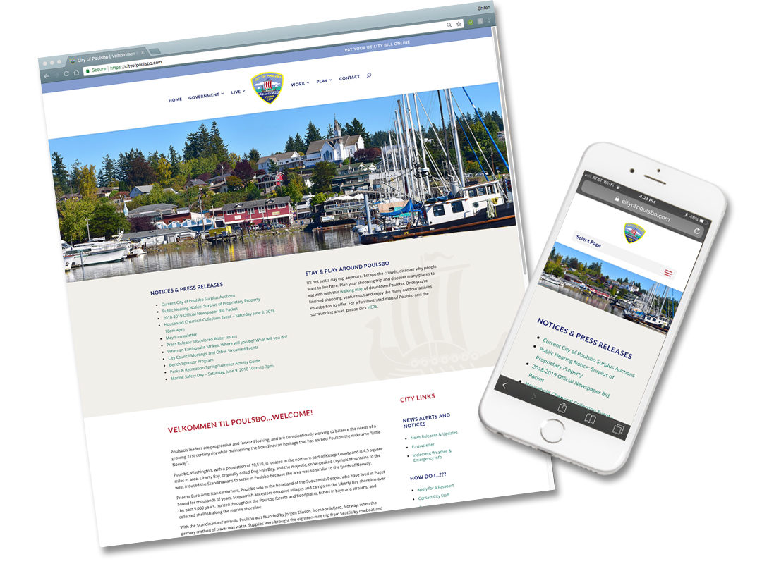 City of Poulsbo Website