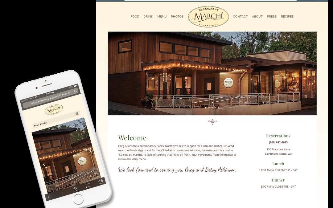 Restaurant Marche Bainbridge Island